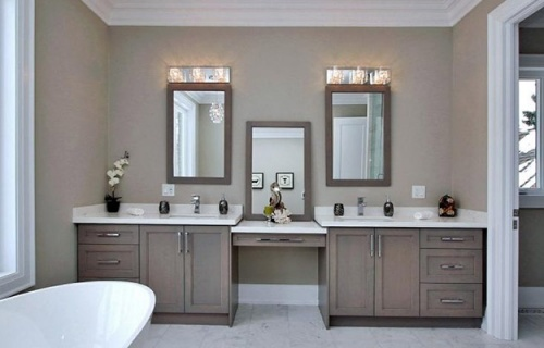 Luxury Bathroom Renovation Custom Vanity
